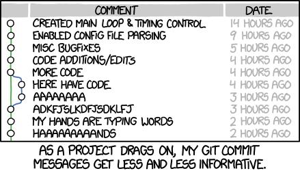 Git Commit - xkcd